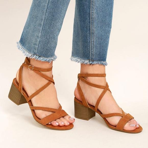 e3b2d135ef7 Breaker BLACK Block Heel Strappy Sandal